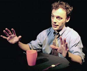 FringeNYC performer and playwright Matthew Trumbull