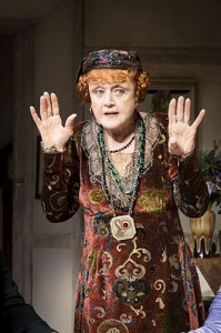 Angela Lansbury as Madame Arcati