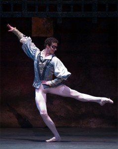 Cory Stearns in 'Romeo & Juliet'