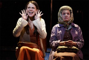 Sutton Foster & Annie Golden in Violet