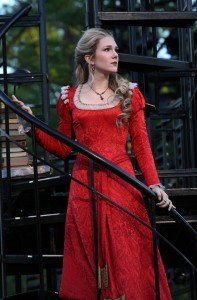 "Lily Rabe in ""Merchant of Venice"""