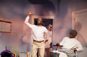 Phillip James Brannon & Michael Coadie Williams in Bootycandy at Philly's Wilma Theatre