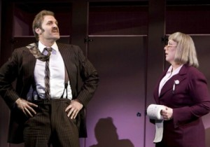 Marc Kudisch and Kathy Fitzgerald in 9 to 5